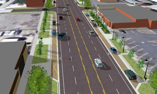Ecorse Road Proposed Scetch
